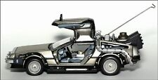 Sun Star Vitesse Back to the Future DeLorean 1:43 Car NEW 24012