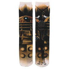 Doctor Who Dalek 360 Photoreal 1 Pair Of Socks NEW Toys Dr Who Clothing