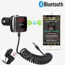 Auto Wireless Bluetooth FM Transmitter A2DP KFZ Audio Stereo 3.5MM AUX Player