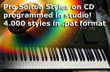 CD 4300 Pat stili KETRON SOLTON ms40 ms50 ms60 ms100 MS 50 60 100 x1 x4 xd3 xd9