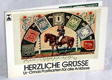 HERZLICHE GRÜSSE - Ur-Omas Postkarten für alle Anlässe
