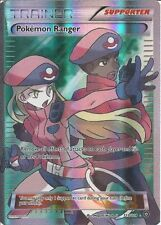 POKEMON TCG VAPORE ASSEDIO POKEMON RANGER 113/114 HOLO CARD Full Art Rara