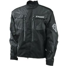 THOR S12 PHASE MOTORCYCLE DUALSPORT OFFROAD ENDURO RIDING JACKET BLACK XL