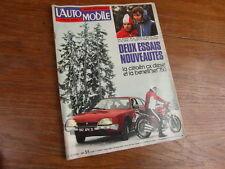 Revue L' AUTOMOBILE No 355 JANVIER 1976 Photo du sommaire dans annonce