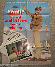 HEINTJE - EINMAL WIRD DIE SONNE WIEDER SCHEINEN  -23AUSHANGFOTOS+Plakat A1