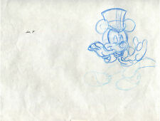 Mickey Mouse Cartoon Cel Drawing - Full Figure Top Hat