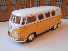 VW TOY CAMPER VAN STYLE CREW BUS GIFT (PULL BACK & GO) 1/32 Model Toy Car NEW!