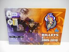 Vintage - GATINEAU OLYMPIQUES - QMJHL - 2009-2010 Season Tickets Book - Unused
