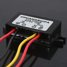 Waterproof DC-DC Converter 12V Step Down to 5V Power Supply Module 3A 15W
