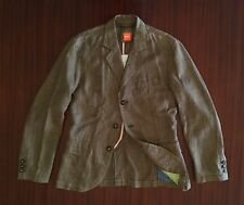 New Rare HUGO BOSS Limited Edition Handcrafted 100% Linen Jacket Blazer Men's S