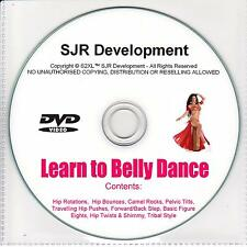 Belly Dancing - Learn How to Belly Dance DVD Instructional Video Fitness Workout