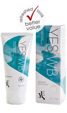 YES® WB Organic Lubricant Water Based Personal Lube 100ml Tube