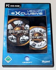 RISE OF NATIONS - GOLD EDITION INKL THRONES & PATRIOTS - DVD BOX