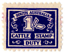 (I.B) Australia - South Australia Revenue : Cattle Duty 1/-