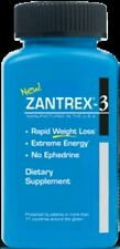 7x ZANTREX 3 RAPID WEIGHT LOSS EXTREME ENERGY FORMULA 24 CAPS EACH (168 TOTAL)