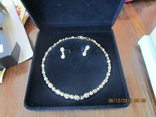 LUCK Necklace and Earring Set made with Austrian Swarovski Elements AVON