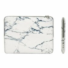 "13-Inch White Marble Zipper Sleeve Bag for 13"" Macbook/ Air / Pro / Chromebook"
