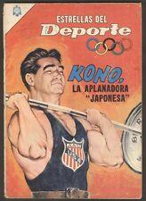 Estrellas Del Deporte #4 Kono Comic Spanish Mexican Novaro 1965