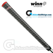 Winn Dri-Tac Wrap Grips - Dark Grey / Red x 9