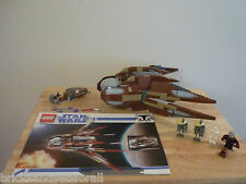 Lego Star Wars 7752 Count Dooku's Solar Sailer. Clone Wars.