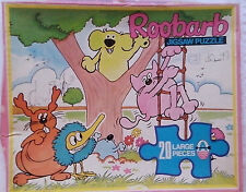 Roobarb and Custard  Jigsaw Puzzle  20 large pieces  No 5490 Arrow Games1975