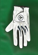 New Dunlop Junior Tour Left Hand Golf Glove White Size Medium All Weather