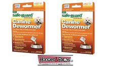 2 Packs of 8in1 SAFEGUARD DEWORMER SMALL DOG WORMER WORM 6 WEEK OLD FENBENDAZOLE