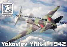 Brengun 1/72 Yakovlev Yak-1 (mod. 1942) # 72021