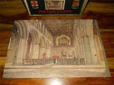 VINTAGE 1930-34 BOXED G.W.R CHAD VALLEY WOODEN JIGSAW PUZZLE ST DAVIDS CATHEDRAL
