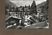 Switzerland Real photo mitholz Blue lake trout farm 1950's unposted