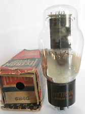 1947 Sylvania/Hytron 6B4G Power Triode tube - New Old Stock / New In Box