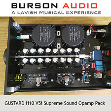 GUSTARD H10 Headphone Amp V5i SS Opamp upgrade pack