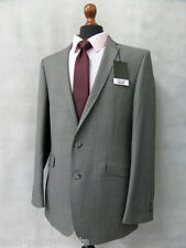 Men's Grey Slim Fit Scott By The Label 2 Piece Suit 44L W38 L30 CC1922