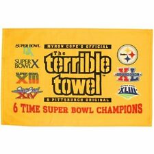 PITTSBURGH STEELERS MYRON COPE 6 TIME SUPER BOWL CHAMPS TERRIBLE TOWEL