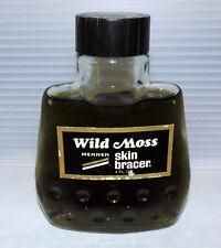 Vintage Discontinued Mens Mennen 4 oz. Skin Bracer Wild Moss Aftershave 95% Full