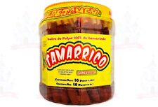 Tamarrico Tarugos Tamarindo Con Chile Mexican Tamarind Candy 50 Pcs 1kg