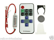 12V RF Wireless Remote Switch Controller Dimmer for LED Strip Light