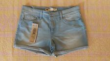 Levi`s Women`s Vintage Stretch Wedgie Fit Low Rise Cuffed Denim Hot Shorts W 32""