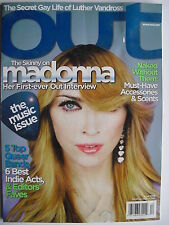 MADONNA April 2006 OUT Magazine  5 TOP QUEER BANDS