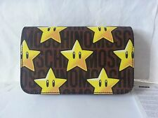 NEW MOSCHINO Couture SUPER MARIO STARS WALLET with chain Authentic