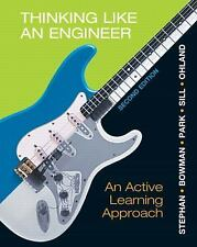 Thinking Like an Engineer : An Active Learning Approach by David R. Bowman,...