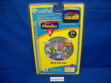 Leap Frog Pad PHONICS RAINY DAY PLAY Lesson 8 Book & Cartridge New
