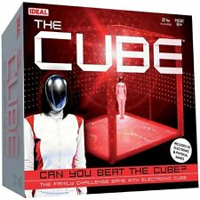Ideal THE CUBE GAME Elctronic PHYSICAL Challenge Board Game John Adams