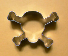 Skull and bone halloween fondant pastry baking stainless biscuit cookie cutter