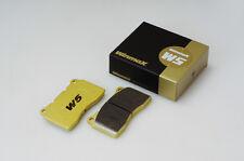 Winmax W5 Rear Brake Pad For FAMILIA 11.84-02.87 BFMR(4WD) -500000