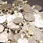 50 COINS Tribal Belly Dance Kuchi Bellydance SCALLOPED ((polished))