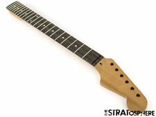 NEW Fender Lic WD Stratocaster Strat Replacement NECK MAHOGANY & EBONY Modern 22