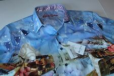 Robert Graham Shirt Urban Sands Limited Edition RS161602CF LS Extra Large  XL