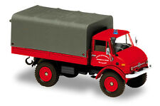 MERCEDES - BENZ UNIMOG 416 1963 - 1:50 FRENCH FIREFIGHTER SOLIDO DIECAST CAR