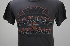 Harley Davidson Motorcycles House of Thunder Morgan Hill Calif t tee shirt Small